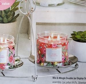 PartyLite Mix & Mingle display for jars or pillars